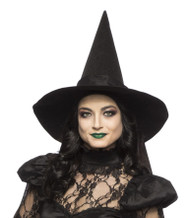 Adult Witch Hat Halloween Costume Accessory