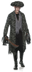 Mens Lost Soul Ghost Pirate Costume