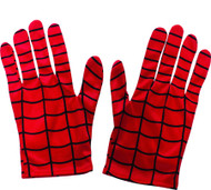 kids boys short Spiderman Spider-man gloves costume accessory