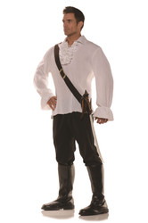 Mens Sword Holster Belt Brown Costume Accessory