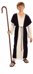 SHEPHERD BOY kids boys Christmas pageant jesus biblical joseph costume M 8-10