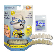 Instant Smile Temporary Tooth Kit Deluxe 3 Shades Temporary Teeth