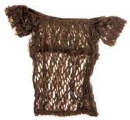 Burleska Women's Gypsy Peasant Underbust Corset Top L/XL