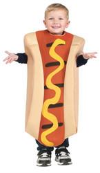 Hot Dog Toddler Costume 3T-4T