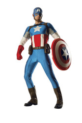 Marvel Classic Grand Heritage Captain America Rental Quality Adult Mens Costume