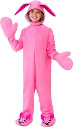 Pink Bunny Jumper Medium 8-10