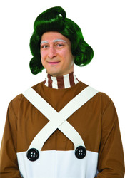 Adult Oompa Loompa Wig Willy Wonka Chocolate Factory