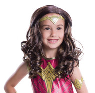 kids Wonder Woman Wig womens Halloween costume accessory
