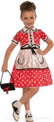 Kids 1950's Little Lady costume