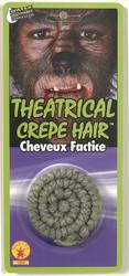 100% Wool Crepe Hair