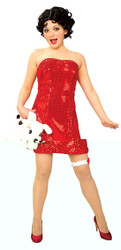 Betty Boop Sexy Womens Costume 888024