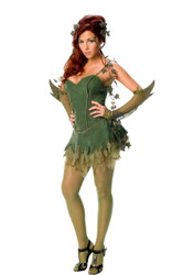 Poison Ivy Batman Adult Womens Sexy Costume