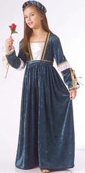 Blue Juliet Rennaisance Dress Girls