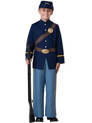 Boys Civil War Union Soldier Costume