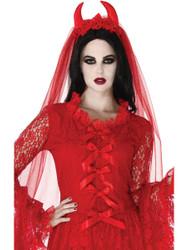 Villainous Veil Costume Accessory Adult Halloween