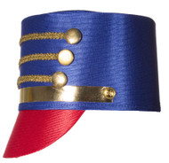 Nutcracker Toy Soldier Drum Major Adult Hat Costume Accessory