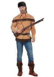 Adult Davy Crockett Frontier Man Costume