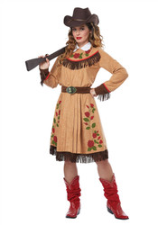 Adult Cowgirl Annie Oakley Costume
