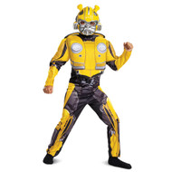 Transformers bumblebee movie classic muscle Kids costume