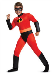 Incredibles 2 Classic Dash Muscle Boys Costume