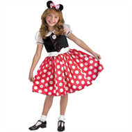 Minnie mouse classic girls child halloween costume