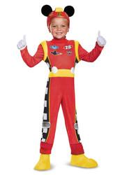 Mickey Mouse Deluxe Roadster Racers Boys Costume
