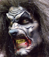 Werewolf Mask Foam Prosthetic Flesh Colored
