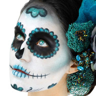 Cinema Secrets Day Of The Dead Makeup Kit - Teal