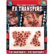 Trypophobia 3D Temporary Tattoo Tinsley Transfers - Large