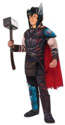 Gladiator Thor Ragnarok Marvel Superhero Fancy Dress Halloween Child Costume