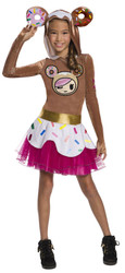 Girls Tokidoki donutella costume child