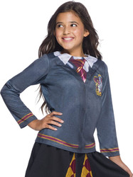Girls Harry Potter Childs Gryffindor Costume Top