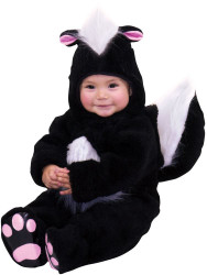 Little Stinker Skunk Micro Fiber Costume - Toddler 2-4T
