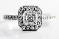 Asscher Cut Diamonds Assessment Chart Guide In-depth Information