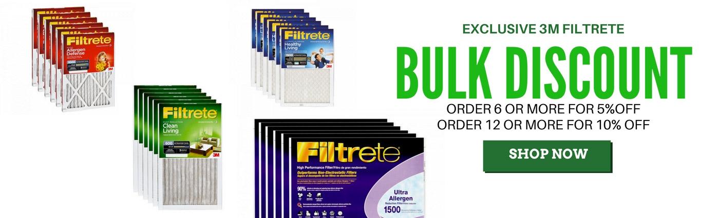 Filtrete Filters Bulk Discount