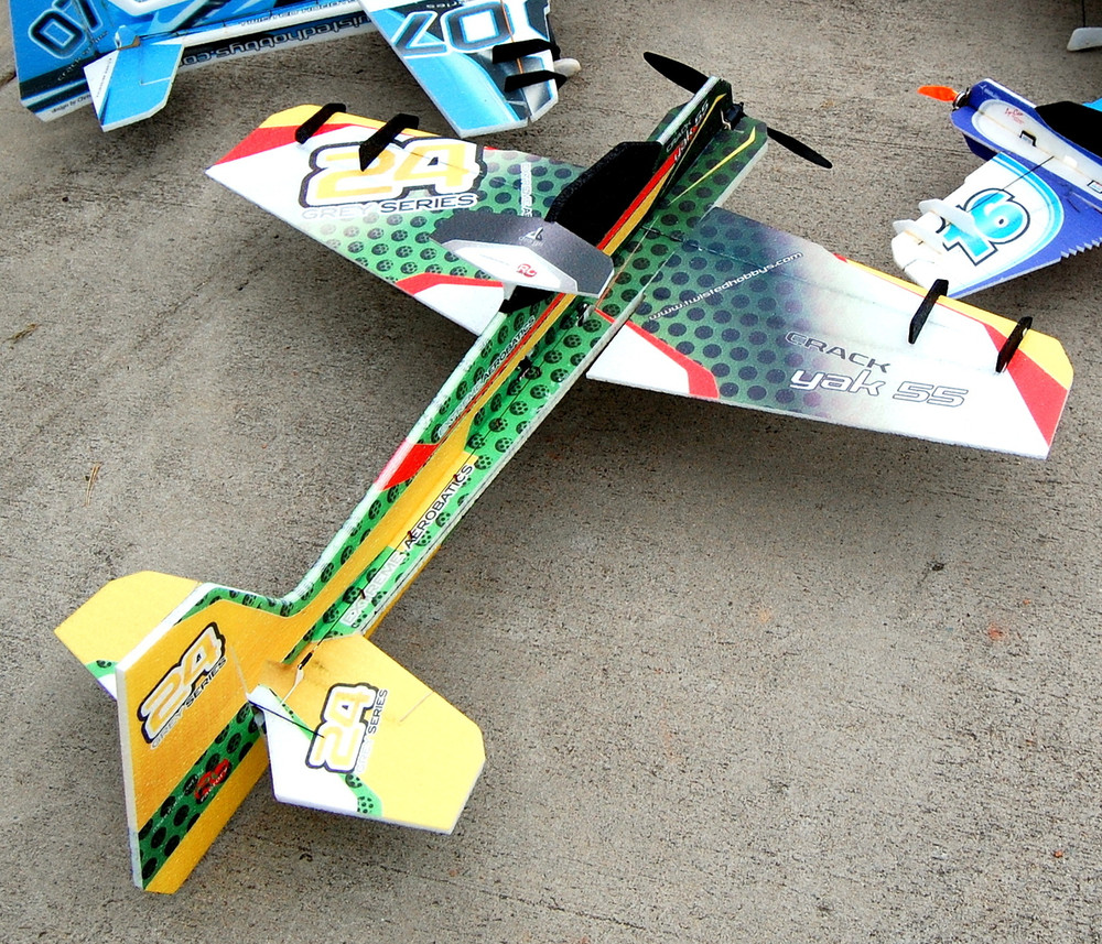 "TH 39"" EPP Crack Yak-55 HCG"