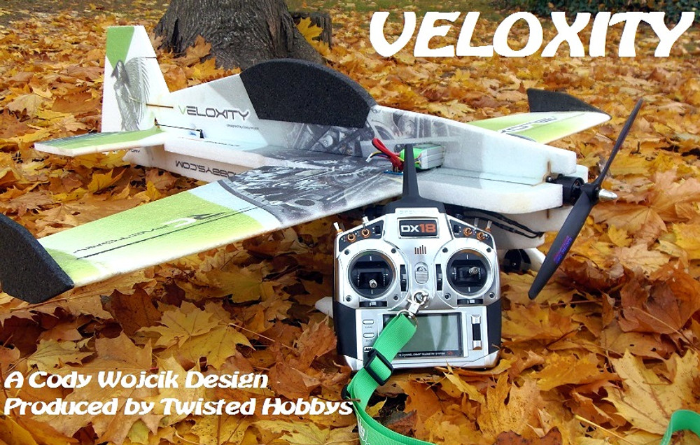"TH 43"" EPP Veloxity Model Airplane"