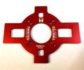 "TMW 48"" Mono Alum Motor Mount - RED -"