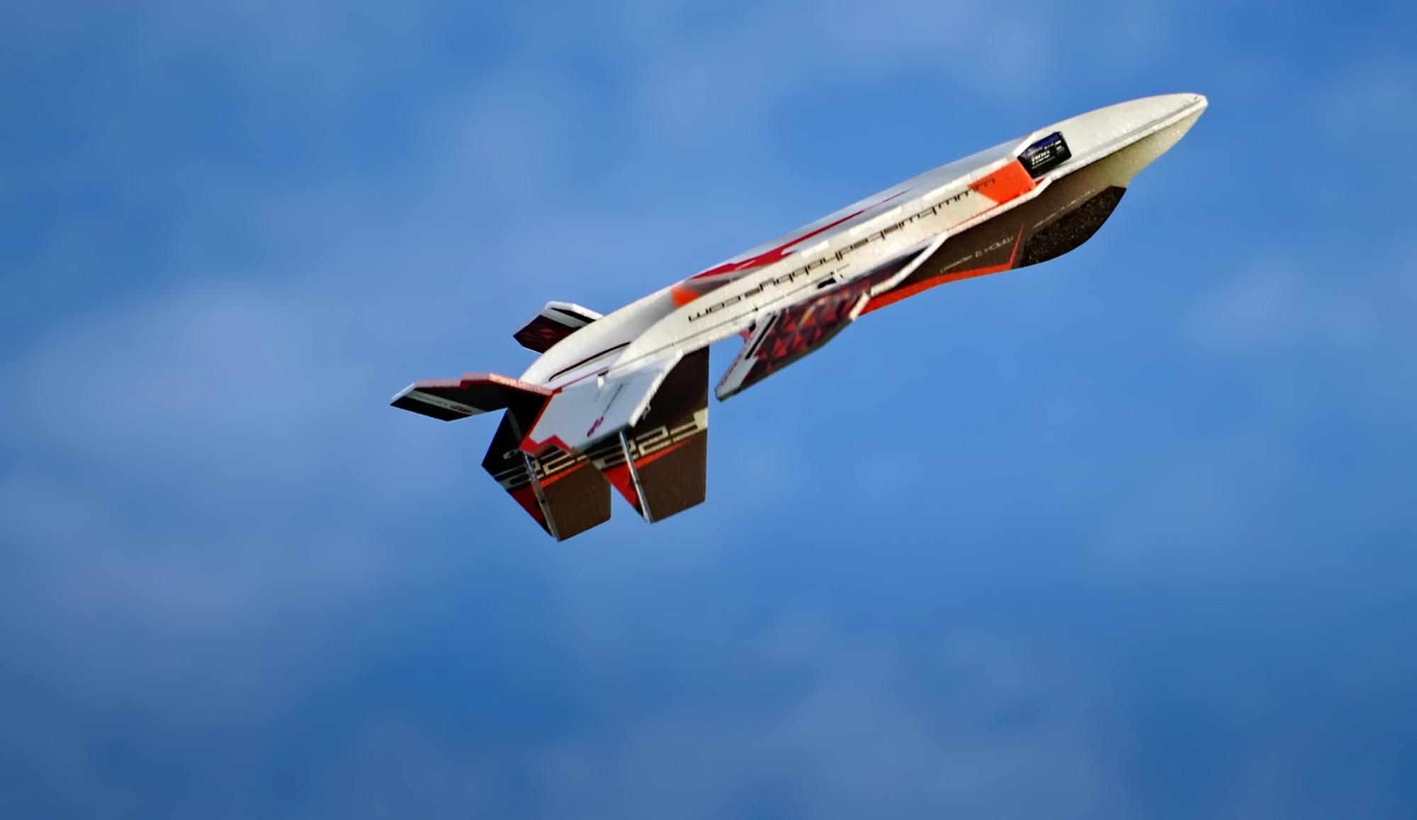 Twisted Hobbys 29 Quot Epp Raptor Jet Rc Foam 3d Plane