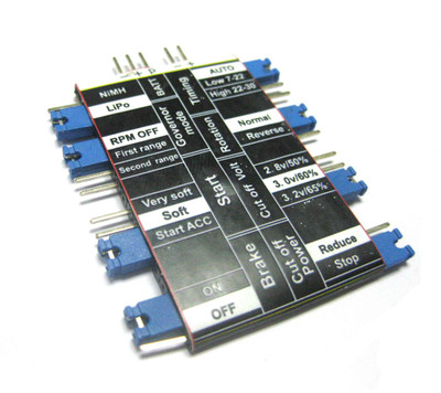 ESC Crack Series Programming Card