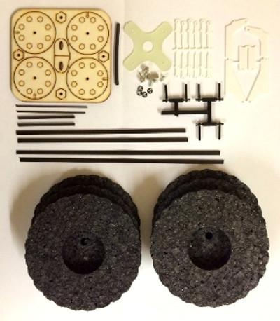 "RcFactory Parts - 35"" Beaver Hardware bag"