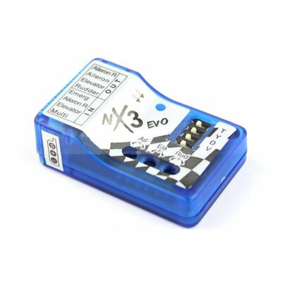 NX3 Evo Flight Stabilization Controller for Fixed-Wing Airplanes
