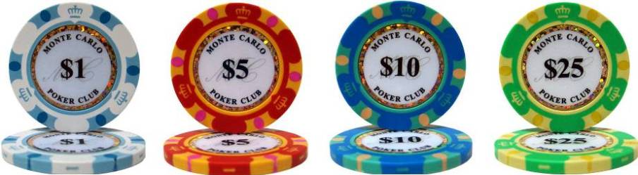 Monte Carlo Casino Chips