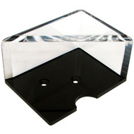 2-DECK PROFESSIONAL GRADE ACRYLIC DISCARD HOLDER