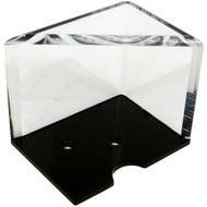 4-DECK PROFESSIONAL GRADE ACRYLIC DISCARD HOLDER