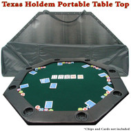 DELUXE 51 x 51 Octagonal Padded Poker Table Top