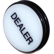 CASINO GRADE DOUBLE-SIDED DEALER BUTTON PUCK