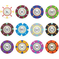 25 THE MINT Claysmith 14gm Clay Poker Chips - Choose Chips