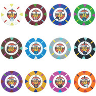 25 Rock & Roll Claysmith 14gm Clay Poker Chips - Choose Chips!