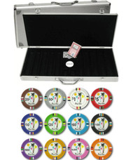 Desert Heat Claysmith 14gm 500 Chip Clay Poker Set with Aluminum Case - Choose Chips!
